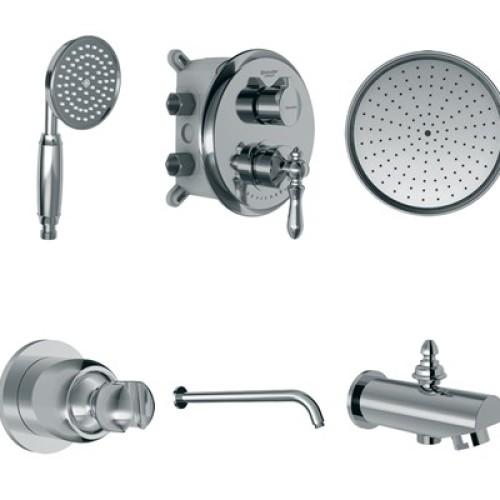 زیگموند توکار حمام تیپ4 brass شودر